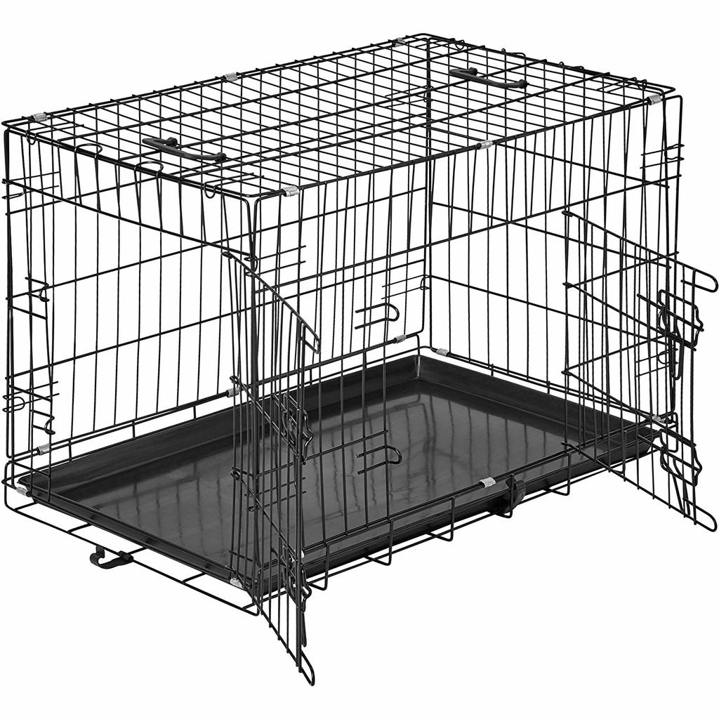 test avis cage chien tectake 2 portes